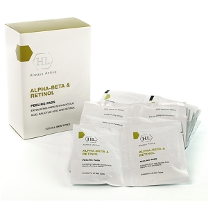 Holy Land / ALPHA-BETA & Retinol Holy Land Alpha-Betha & Retinol Peeleng Pads - Отшелушивающие салфетки 24 шт.